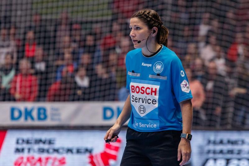 Schiedsrichterin Tanja Schilha