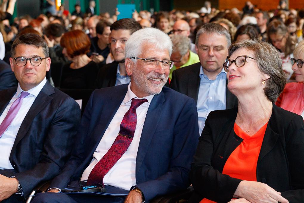 Boris Rhein, Bertram HIlgen, Anette Kuhlenkampff