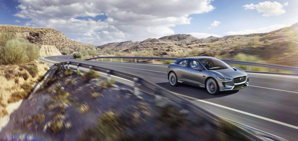 """Das neue Jaguar I-PACE Concept. Weiterer Text über ots und www.presseportal.de/nr/33626 / Die Verwendung dieses Bildes ist für redaktionelle Zwecke honorarfrei. Veröffentlichung bitte unter Quellenangabe: """"obs/Jaguar Land Rover Deutschland GmbH - Presse Jaguar"""""""