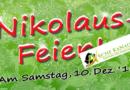 Einladung zur Nikolausfeier
