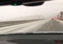 Winterliche Straßen sorgen für Unfälle und Verkehrsbehinderungen