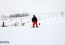 Lebhafter Verkehr auf den Wintersportrouten
