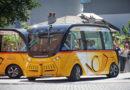 Autonomes Fahren auf CeBIT – mit dem SmartShuttle der Schweizer Post