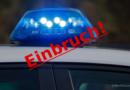 Polizei: Tabak und Alkohol – Diebe schlagen zu