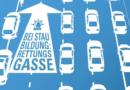 Leider hat es wieder nicht geklappt: Verkehrsunfall auf der BAB 7 – fehlende Rettungsgasse behindert Einsatzkräfte