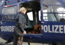 """Diensthund der Bundespolizei Kassel bei der Hubschrauberausbildung Bundespolizeihund """"Rocky"""" hebt ab!"""