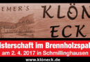 11. Brennholzmeisterschaften  –  Noch Teams gesucht