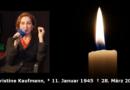 Leukämie – Christine Kaufmann gestorben