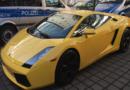560 PS Lamborghini sichergestellt