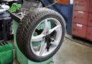 Nun kann man die Reifen wechseln