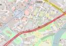 Leitplanken für documenta-Besucher im Steinweg und der Wilhelmshöher Allee