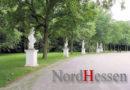 Skulpturen in der Karlsaue mit Farbe beschmiert: Zeugen gesucht