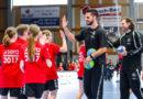Leuchtende Kinderaugen beim sera Handballtag