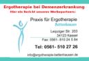 Ergotherapie bei Demenzerkrankung