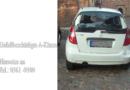 Ärgerlich – geparktes Auto in KS schwer beschädigt und abgehauen