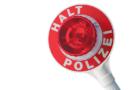 Polizei überwacht Durchfahrtsverbot für LKW über 12t