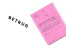Betrugsversuch mittels gefälschten Haftbefehls