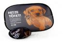 Cool bleiben und Tieren helfen – mit der PETA-Sonnenblende fürs Auto