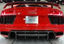 Audi R 8 überschlägt sich bei Alleinunfall
