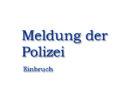 Landkreis Kassel: Nächtlicher Einbruch in Gaststätte: Polizei sucht Zeugen