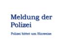 Erstmeldung: Raubüberfall auf Postfiliale: Polizei fahndet aktuell nach Täter und bittet um Hinweise aus der Bevölkerung