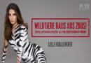 Schauspielerin Lilli Hollunder in neuer PETA-Kampagne: Wildtiere gehören in die Freiheit!
