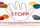 500 Deckel für ein Leben ohne Kinderlähmung