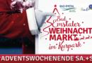 Dran denken: Am Samstag und Sonntag Weihnachtsmarkt in Bad Emstal