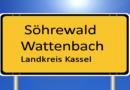 Söhrewald: Unbekannte klauen Ortschild von Wattenbach; Zeugen gesucht