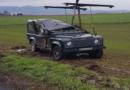 Rengershausen: Pkw kommt von Fahrbahn ab und landet auf dem Dach: Zwei Verletzte