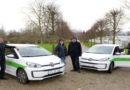 Neue Elektro-Autos für das Umwelt- und Gartenamt der Stadt Kassel