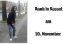 Kassel – Vorderer Westen: Folgemeldung zum Raub eines Handys an der Querallee: Polizei fahndet mit Foto vom Tatverdächtigen
