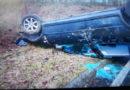 Alleinunfall auf Bundesstraße 7 bei Espenau: Autofahrerin mutmaßlich unter Alkoholeinfluss