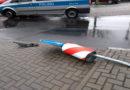 Zwei Unfälle, zwei Mal flüchten die Verursacher, beide Male werden sie schnell ermittelt