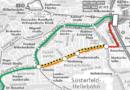 Großbaustelle an Druseltalstraße schränkt ab 25. März regionalen Busverkehr zwei Jahre lang ein –  Haltestellen fallen weg – Anruf-Sammel-Taxi übernimmt Bedienung