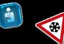 Kein Arbeitsunfall bei Prüfung der Fahrbahn auf Glatteis