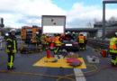 Abschlussmeldung Feuerwehreinsatz auf der A 7