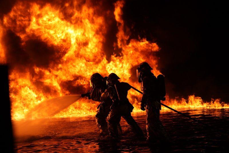 Sachschaden von 5000 Euro bei Brand in der Frankfurter Straße entstanden