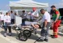 Medizinische Task Force Kassel übte Betrieb eines Behandlungsplatzes