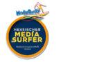 Stolze Preisträger beim 15. MediaSurfer:  11 Projektgruppen erhielten die medienpädagogische Auszeichnung