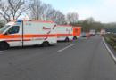 1 Rüstzug der Feuerwehr Kassel, 3 Rettungswagen, 1 Notarzteinsatzfahrzeug (26 Einsatzkräfte)