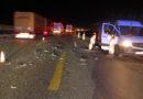 Auffahrunfall auf der Autobahn 7 – zwei verletzte Personen