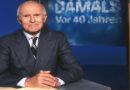 """Erster Moderator der ZDF-""""heute""""-Sendung: Carl Weiss gestorben"""