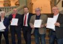 Oberbürgermeister Geselle würdigt verdiente Betriebs- und Personalräte