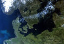 Sentinel-3B-Aufnahme von Nordeuropa