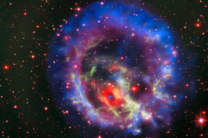 Credits: X-ray (NASA/CXC/ESO/F.Vogt et al); Optical (ESO/VLT/MUSE & NASA/STScI)