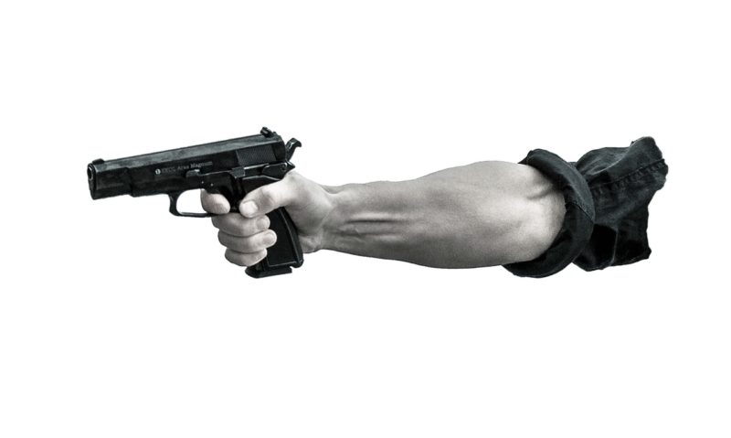 Polizei nimmt 31-jährigen Mann nach Bedrohung mit Schusswaffe fest
