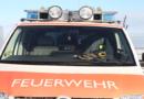 Guxhagen (Schwalm-Eder-Kreis): Brand eines Wirtschaftsgebäudes