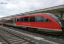 Züge mit Farbe besprüht