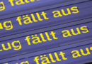 Großeinsatz wegen Waldbrandes: Ausfälle im Zugverkehr